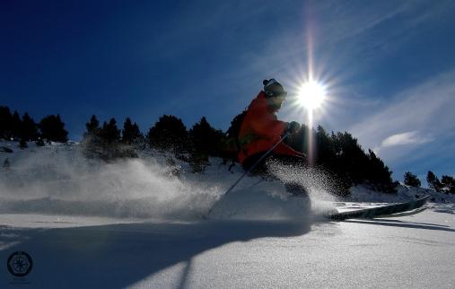Esquiar en Baqueira.