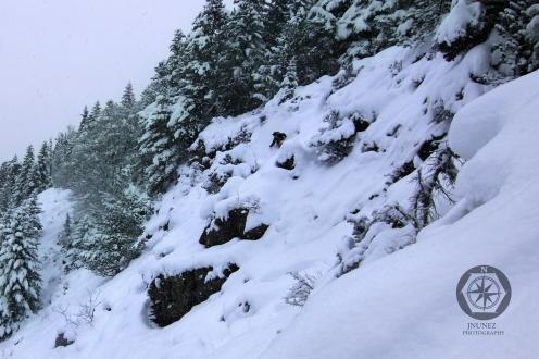 Esquí fuera pistas Boca Norte Bielsa.