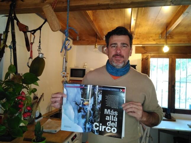 Publicación reportaje en revista desnivel Febrero 2018.